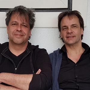 Andrew Groeneveld en Mark Snijders